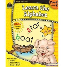 Teacher Created Resources Book Learn The Alphabet Pk-k