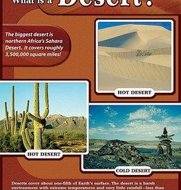 Trend Enterprises Chart 17x22  What is a Desert?
