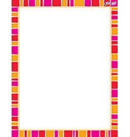 Trend Enterprises Stripe-tacular Snazzy Red Chart