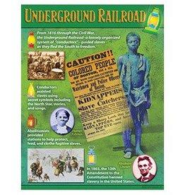 Trend Enterprises Chart 17x22 Undergrnd Railroad
