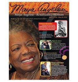 Trend Enterprises Maya Angelou Chart