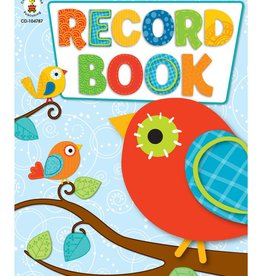 Record Book Boho Birds
