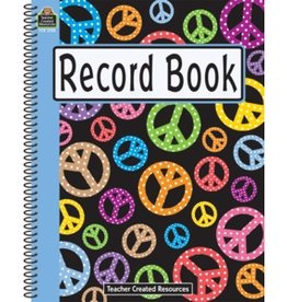 Teacher Created Resources Record Book Peace Signs