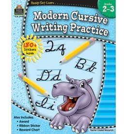 Teacher Created Resources Workbook Modern Cursive Writing