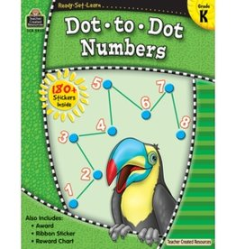 Teacher Created Resources Home Workbook Dot-to-dot Nmbrs