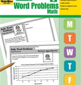 Evan-Moor Book Daily Word Problems Gr-5