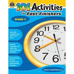 Teacher Created Resources Book 101 Activities Finish Gr1