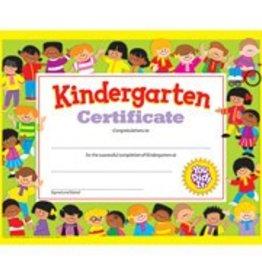 Trend Enterprises Kindergarten Certificate T-17008