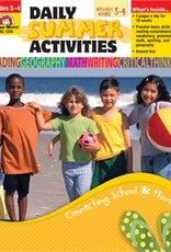 Evan-Moor Book Dly Summer Activ Gr3 To 4
