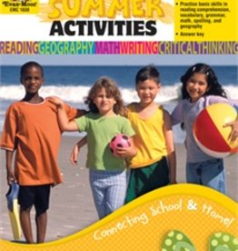 Evan-Moor Book Dly Summer Activ Gr3 To 4