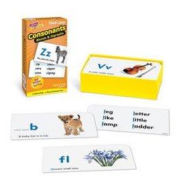 Trend Enterprises Flash Cards Drill Consonants