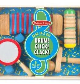 Melissa & Doug Drum! Click! Clack!