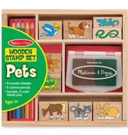 Melissa & Doug Pets Stamps Set