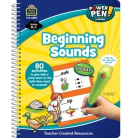 Teacher Created Resources Power Pen! Beginning Sounds: Grades k-1