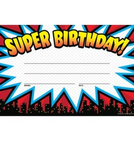 Teacher Created Resources Superhero Super Birthday Awards
