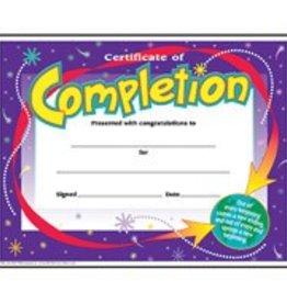 Trend Enterprises Certificates 8.5x11 Completion