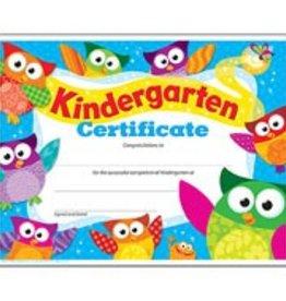 Trend Enterprises Diploma Kndrgrtn Owl-stars