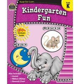 Teacher Created Resources Home Workbook Kindergarten Fun