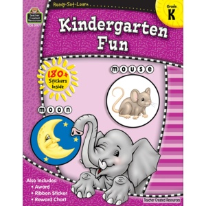 Teacher Created Resources Home Workbook Kindergarten Fun