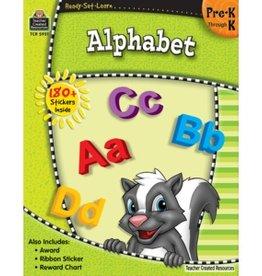 Teacher Created Resources Home Workbook Alphabet Pk-k