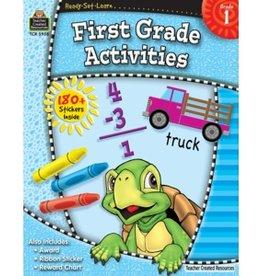 Teacher Created Resources Home Workbook 1st Grade Activ