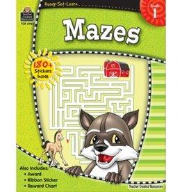 Teacher Created Resources Home Workbook Mazes Gr-1