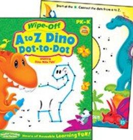 Trend Enterprises A to Z Dino Dot-to-Dot Dino-Mite Pals™ pk-k