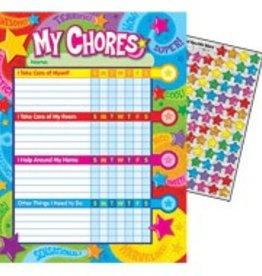Trend Enterprises Chore Chart Praise Words & Stars