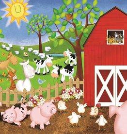 Sunsout Sunsout Animal Farm Puzzle, 63pc
