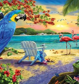 Sunsout Sunsout Secluded Beach Puzzle, 1000pc