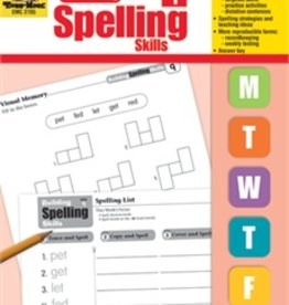 Evan-Moor Book Build Spelling Skills Gr1