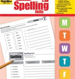Evan-Moor Book Build Spelling Skills Gr6