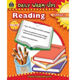 Teacher Created Resources Book Dly Warm-ups Reading Gr-3