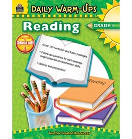 Teacher Created Resources Book Dly Warm-ups Reading Gr-4