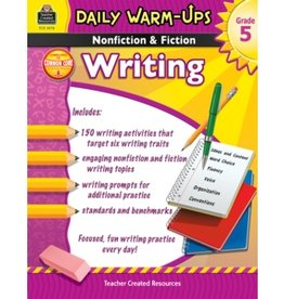 Teacher Created Resources Book Daily Wrm Ups Nonf&fic G5