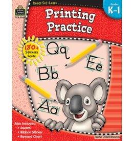 Teacher Created Resources Workbook Printing Practice