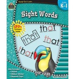 Teacher Created Resources Home Workbook Sight Words K-1