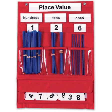 Learning Resources Pocket Chart Countg&place Valu