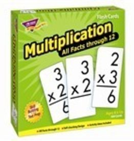 Trend Enterprises Multiplication 0-12 All Facts