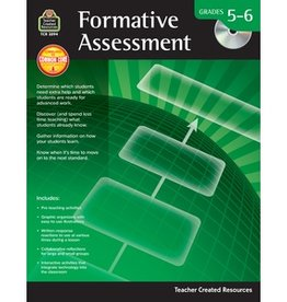 Teacher Created Resources Book Formative Assessment G5-6