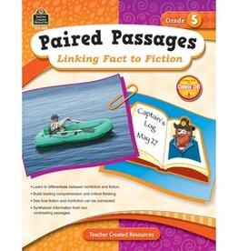 Teacher Created Resources Book Linking Fact/fiction Gr-5