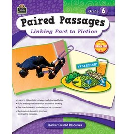 Teacher Created Resources Book Linking Fact/fiction Gr-6