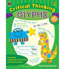 Teacher Created Resources Book Critcl Thinkg Glyphs Gr 2