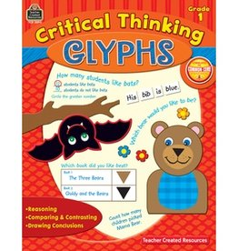 Teacher Created Resources Book Critcl Thinkg Glyphs Gr 1