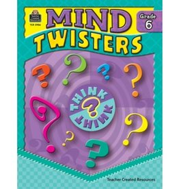 Teacher Created Resources Book Mind Twisters Gr-6