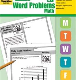 Evan-Moor Book Daily Word Problems Gr-6