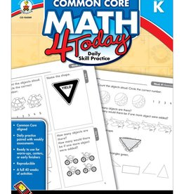 Common Core Math 4 Today Gr K