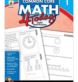 Carson Dellosa Common Core Math 4 Today Gr 1