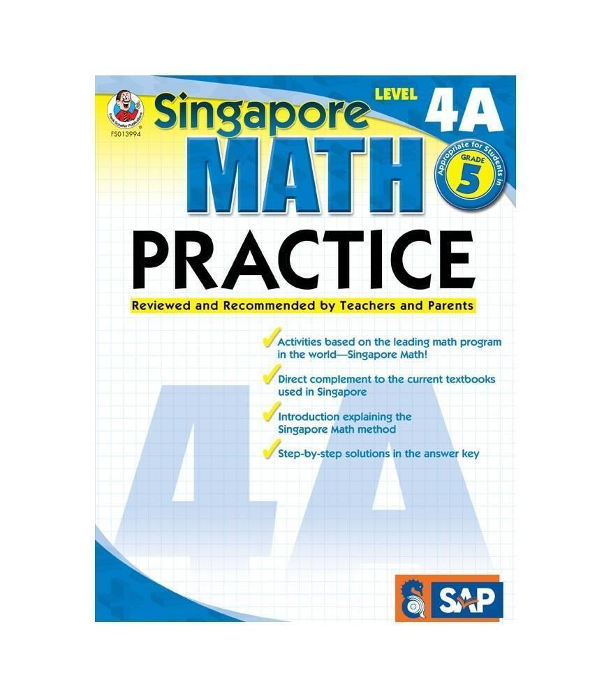 Carson Dellosa Book Singapore Math Pract L-4a