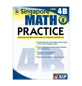 Book Singapore Math Pract L-4b